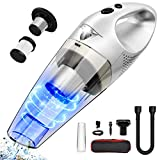 Portable Handheld Auto Vacuum Cleaner for Home, Rechargeable Cordless Dustbuster, Wet & Dry Cleaning Use, High Power, Quick Charge