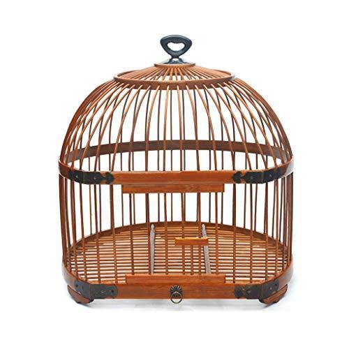 Pájaros pájaros jaulas Portátil de pequeño tamaño Bird Carrier, Viajes Ligera Jaula, la Jaula de pájaro Que cuelga de pequeño Loro del Cockatiel Jaula de pájaros pequeña
