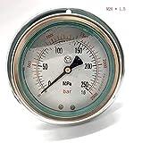 no-branded Jauge de Carburant Moteur Diesel Système de Carburant à Haute Pression mètre 0-250Mpa Common Rail Haute Pression testeur Kits testeur de Pression de Carburant CGFEUR