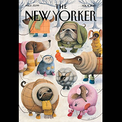 The New Yorker, February 8, 2010 (Patrick Radden Keefe, John McPhee, Paul Goldberger) cover art