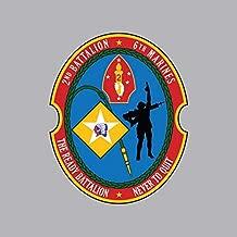 2nd Battalion 6th Marine Regiment Sticker Vinyl Decal Sticker Made in USA