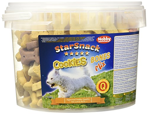 "Nobby STARSNACK Cookies \""Bones Mix\"" Eimer 1,3 kg"
