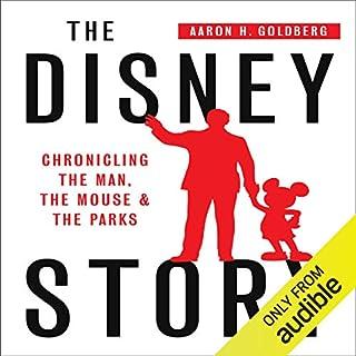 The Disney Story audiobook cover art