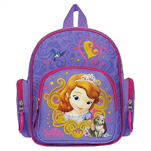 Sofia die Erste–Auf einmal Prinzessin Rucksack mit Seitentaschen