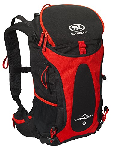 TSL Snow Walker Sac à Dos, Red, 50 x 27 x 20 cm 25 l