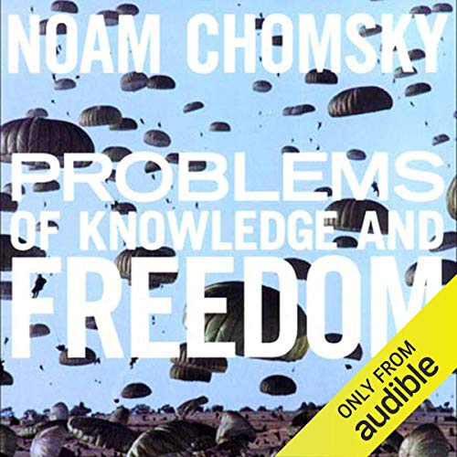 Problems of Knowledge and Freedom audiobook cover art