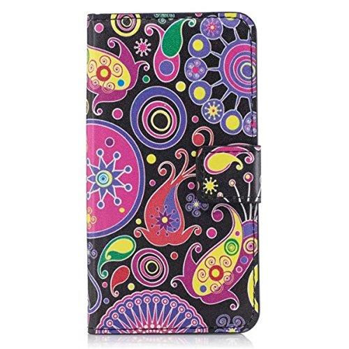 HUANGTAOLI Protettiva Flip Case Cover per Samsung Galaxy Core Plus(GT-G3500 SM-G350 G3502)