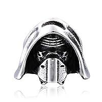 PW 精良SUS316L製 銀色 STAR WARS スターウォーズの覚醒 Kylo Ren カイロレン 指輪 【ラッピング対応】