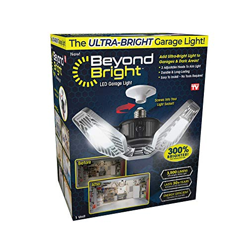 Ontel Beyond Bright LED Garage Light