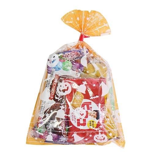 ハロウィン袋 310円 グリコ栄養機能食品お菓子詰め合わせ 駄菓子 袋詰め おかしのマーチ