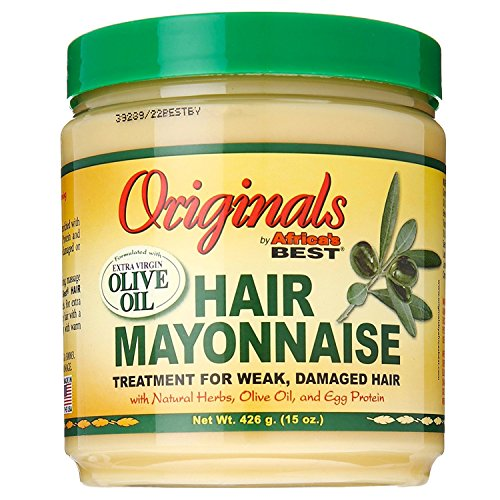 Africas Best Orig Hair Mayonnaise 15 Ounce Jar (443ml)