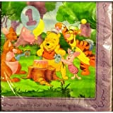 Winnie The Pooh Party Napkins, Pooh's Grand Day