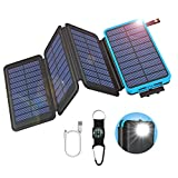 Solar Powerbank mit faltbaren Panelen