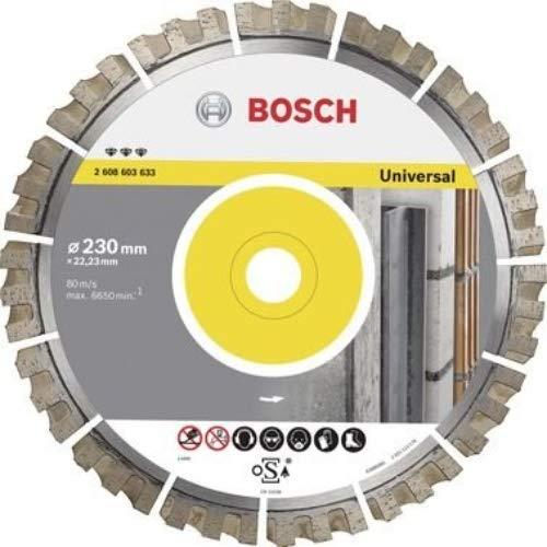 Bosch Professional Diamanttrennscheibe Best für Universal, 400 x 20/25,40 x 3,3 x 15 mm, 2608603637