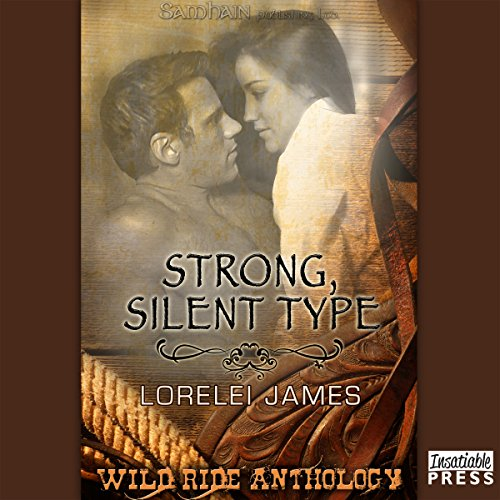 Strong, Silent Type audiobook cover art