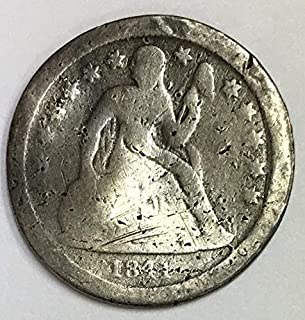 1841 P Liberty Seated Dime Circulated