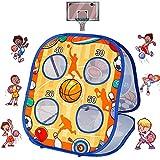 Sosolovi Juego de bastón de baloncesto para niños, juegos de interacción entre padres e hijos, niños de 3 años de edad, para interior y exterior, juego de lanzamiento