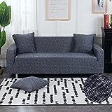 WXQY Funda de sofá elástica de Spandex, Conjunto de sofás de...