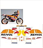 GRAPHICSMOTO set pegatinas decal stickers compatible 690 repsol rally toro (ability to customize the colors)