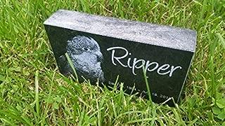 Personalised Pet Stone Memorial Marker Granite Marker Dog Cat Horse Bird Human 4