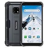 Blackview BV4900 Móvil Libre Resistente, Pantalla 5.7', 5580mAh Batería, Carga Inversa, Android 10 Impermeable Smartphone, 3GB RAM+32GB ROM 128GB expandible Movil Antigolpe, NFC, GPS, Dual SIM 4G