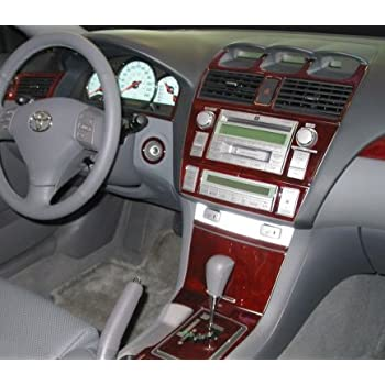 amazon com toyota solara interior burl wood dash trim kit set 2004 2005 2006 2007 2008 automotive toyota solara interior burl wood dash trim kit set 2004 2005 2006 2007 2008