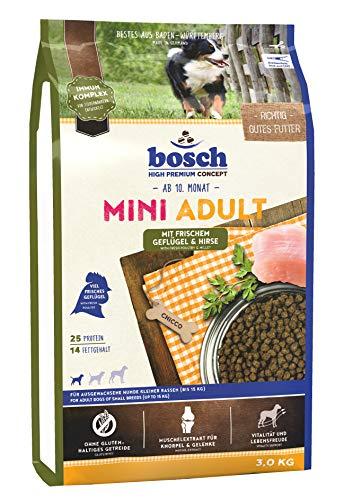 Bosch Mini Adult Geflügel & Hirse, 1er Pack (1 x 3 kg)