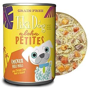 Tiki Dog Aloha Petites Gluten & Grain Free Wet Dog Food with Shredded Meat & Healthy Superfoods