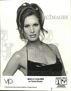 Vintage Photos 1999 Press Photo Molly Culver Stars as Tasha Dexter in VIP - tup04190