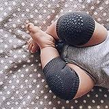 Kongqiabona-UK Rodilleras para niños Codo Otoño e Invierno Bebé Bebé gateando Calcetines para niños pequeños
