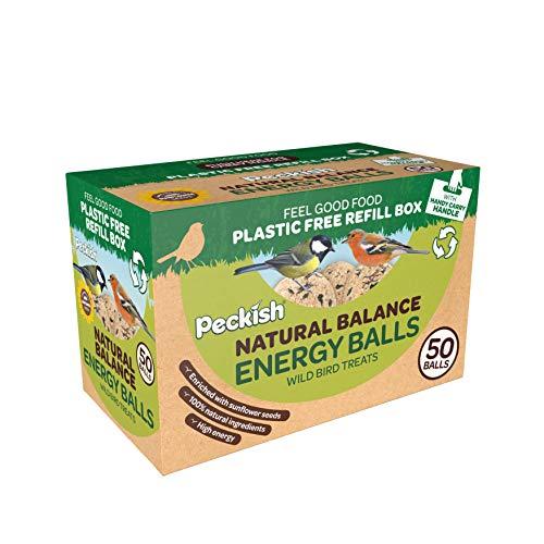 Peckish Natural Balance Energy Balls 50 Box