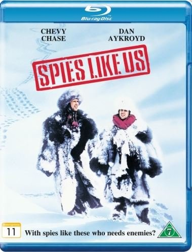 Spies like us (Blu-ray) Chevy Chase, Dan Akroyd (Deutsch sound)
