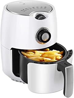WDHZG Air Fryer,Electric Hot Air Fryers Oven & Oilless Cooker for Roasting,with LED Digital Touchscreen,Nonstick Basket,for Home Kitchen