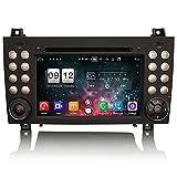 ERISIN 7'Android 10 Autoradio para Mercedes-Benz SLK Klasse R171 SLK200 SLK280 Unterstützt GPS-Navi Carplay Auto DSP Bluetooth A2DP DVB-T / T2 WiFi 4G Dab + 8 Core