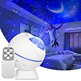 Star Projector Night Light Galaxy Projector for Bedroom Party Decorations for Adult Kids with Star,Nebula,Moon and Cloud Light Multiple Color Stary Lights with Remote Control & Auto-Off Timer