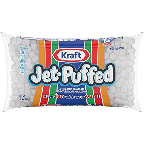 Jet Puffed Mini Marshmallows 4 Pack Kraft Foods Miniature Marshmallows  Four 10 Oz Bags