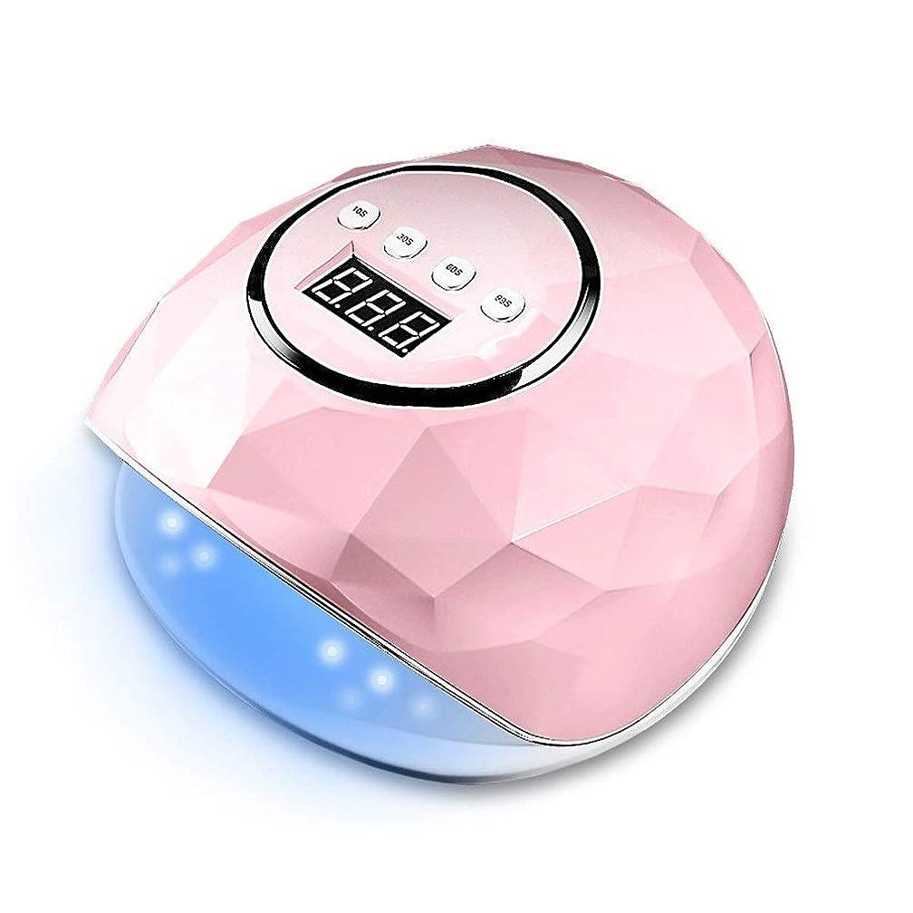どうしたの作ります移動UV光LEDネイルドライヤージェルマニキュアおよびつま先ネイル硬化用自動硬化ランプ(自動センサー付き)(ピンク)