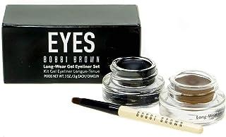 Bobbi Brown Long Wear Gel Eyeliner Duo 2X Gel Eyeliner - Black Ink/Sepia Ink, 6 gm