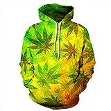 3D Grafik Drucken Sweatshirts, Paar Hoodies Sweatshirt Pullover 3D-Druck Unisex Weihnachtslustige...