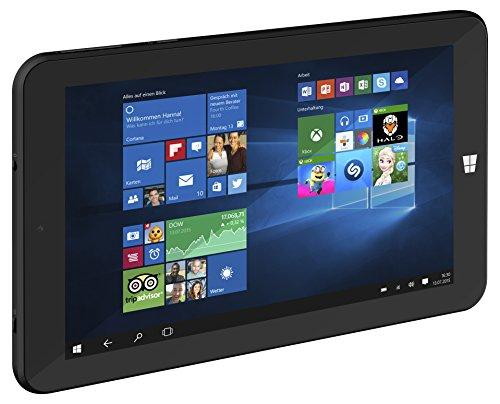 TrekStor SurfTab wintron 7.0 17,8 cm (7 Zoll) WiFi, Tablet-PC (Intel Atom Z3735G, 1GB RAM, 16GB HDD, Intel HD Graphics, Windows 10, IPS Screen, schwarz)