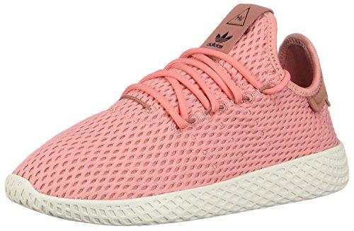 adidas x Pharrell Williams Big Kids Tennis HU J Pink Tactile Rose Footwear White Size 5.0 US