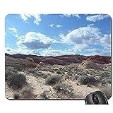 Mouse Pad-Desert Sand Sun Travel Dune Summer Outdoor Hot 1