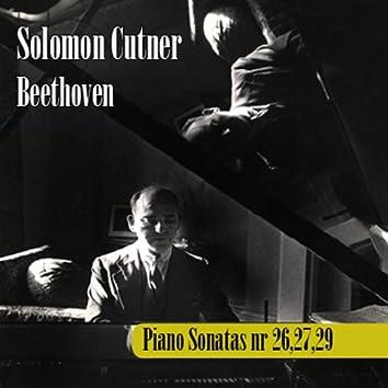 Ludwig Van Beethoven : Piano Sonatas No. 26,27 & 29