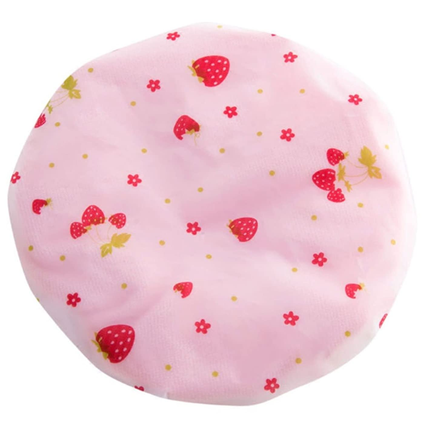 委任する本スリット山の奥 シャワーキャップ 可愛い ヘアーキャップ 防水帽 入浴キャップ 帽子 お風呂 シャワー用に 浴用帽子 便利 再使用可能なサロンの髪を保護する帽