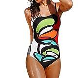 Bikini Set Badeanzug Damen Bademode einteilig Schwimmanzug Strandkleidung Push-up Tankin Beachwear...