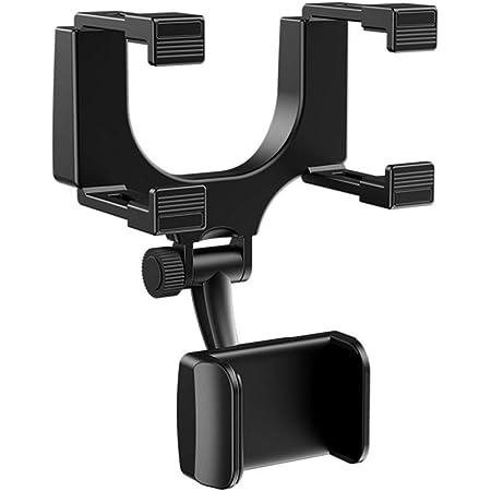 Qillu Rückspiegel Halterung Auto Universal Auto Rückspiegel Smartphone Handy Halterung Halter Ständer Für Iphone Samsung Htc Auto