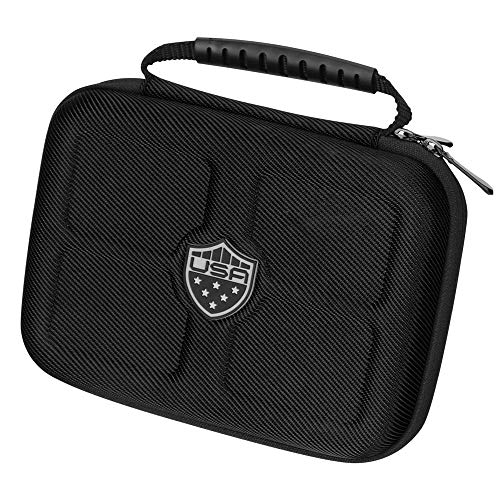 LZFAN Voice Caddie Swing Caddie Protective Case for SC300 7.9 x 5.7 x 2.1 inches (Black)