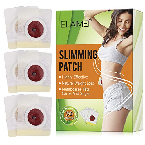 Quick Slimming Sticker for Belly, Wonder Detox Slim Sticker, Traditional Chinese Medicine and Magnetic Abdominal Slimming Sticker, Weight Loss Sticker, Fat Burning Sticker for Beer Belly, Buckets Wai