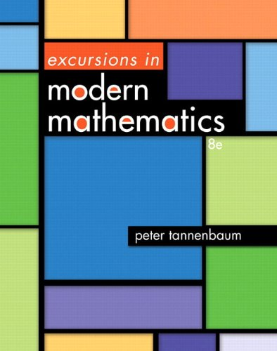 Excursions in Modern Mathematics Plus NEW MyMathLab with Pearson eText -- Access Card Package (8th Edition)