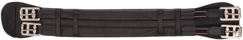 Max 78% OFF EquiRoyal Black Dressage Girth Large special price